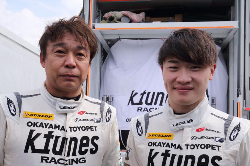 新田守男選手と阪口晴南選手