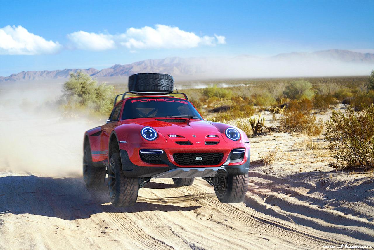 ポルシェのハードオフローダー・911Xを予想! デザインベースは最後の空冷911