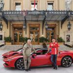 モナコ市街地に希望のサウンドが響き渡った! シャルル・ルクレールがフェラーリ SF90 ストラダーレと映画撮影 - monaco-1