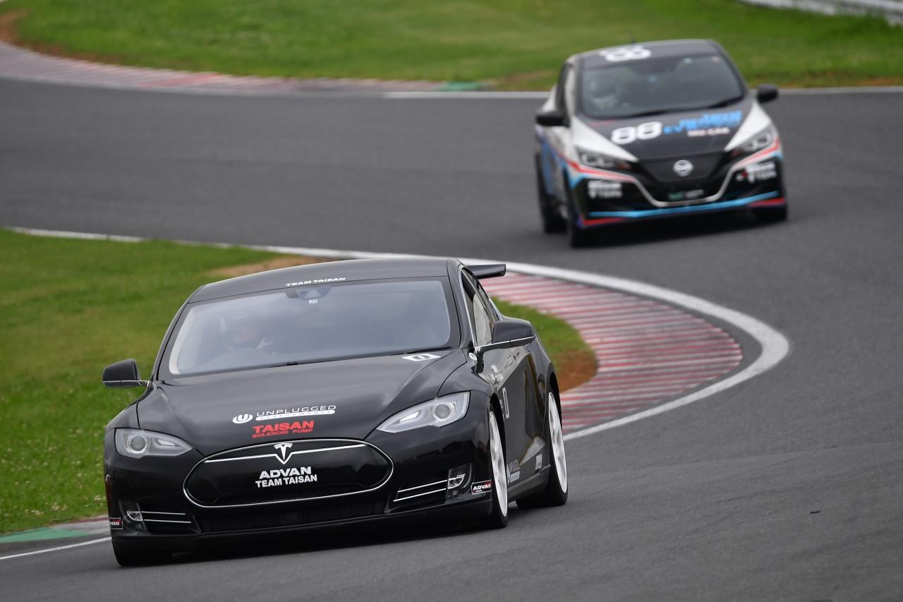 「早くも第2戦を迎えたEVレース・ALL JAPAN EV-GP SERIES 第2戦はテスラ3が圧勝」の9枚目の画像