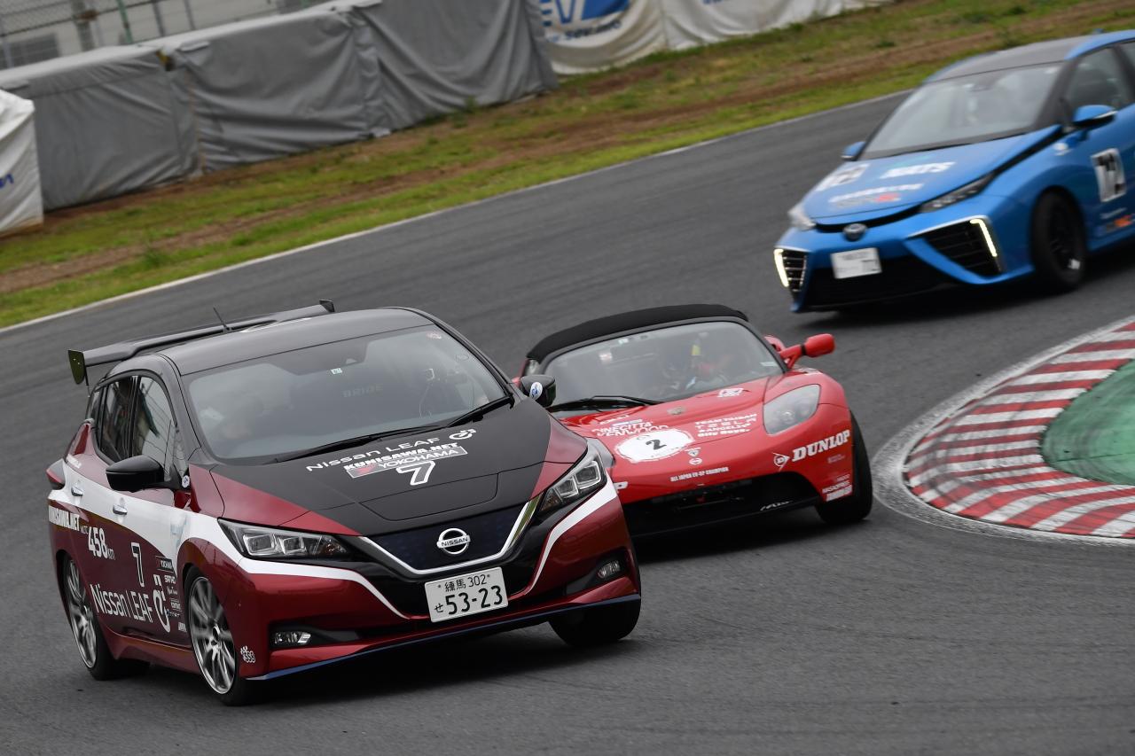 「早くも第2戦を迎えたEVレース・ALL JAPAN EV-GP SERIES 第2戦はテスラ3が圧勝」の12枚目の画像