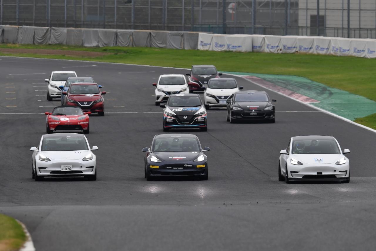 「早くも第2戦を迎えたEVレース・ALL JAPAN EV-GP SERIES 第2戦はテスラ3が圧勝」の7枚目の画像