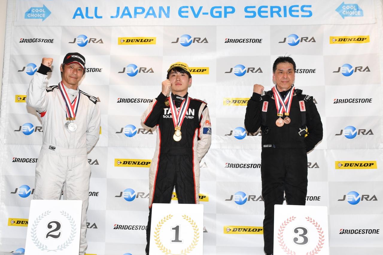 「早くも第2戦を迎えたEVレース・ALL JAPAN EV-GP SERIES 第2戦はテスラ3が圧勝」の13枚目の画像