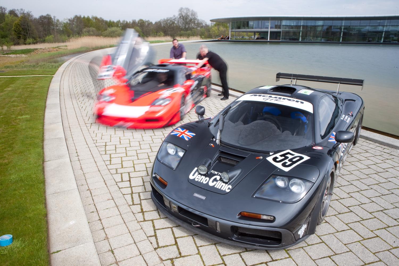 「マクラーレンのル・マン優勝25周年限定車の色はどうして「上野グレー」? 実は日本と深い関係があった!」の20枚目の画像
