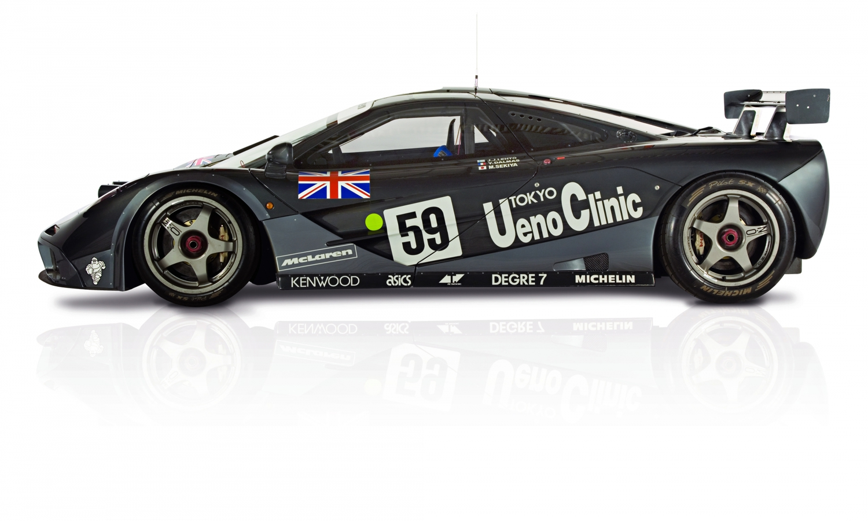 「マクラーレンのル・マン優勝25周年限定車の色はどうして「上野グレー」? 実は日本と深い関係があった!」の15枚目の画像