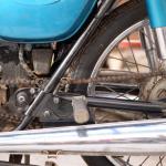 旧車再生の基本・リヤタイヤとチェーンの点検【49年前のCB125は直るのか? 素人再生記】 - cb125k-chain06