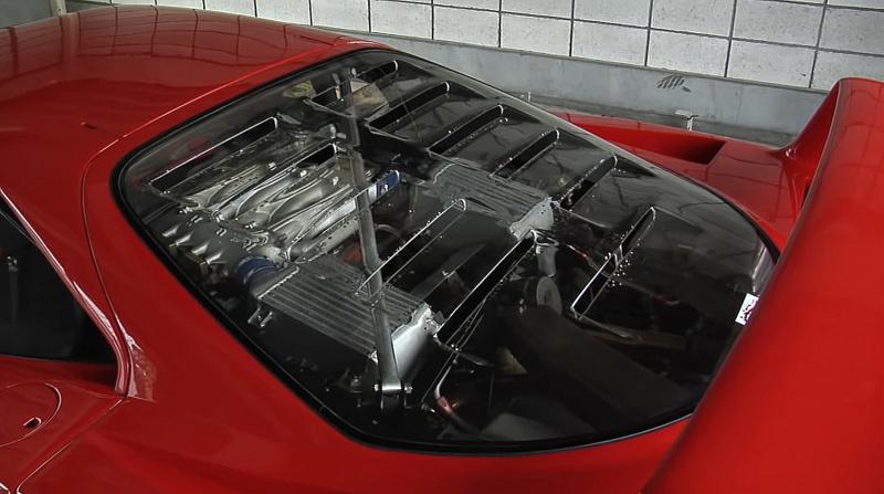 F40のエンジン