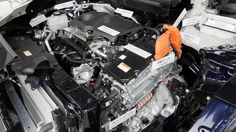 カットモデルのエンジン