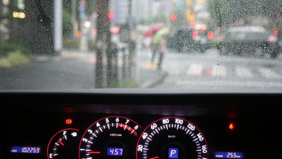 梅雨の事故対策
