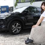 売れまくりの「トヨタ ライズ」をレースクイーンの生田ちむちゃんとチェック! - raize_chimu_004