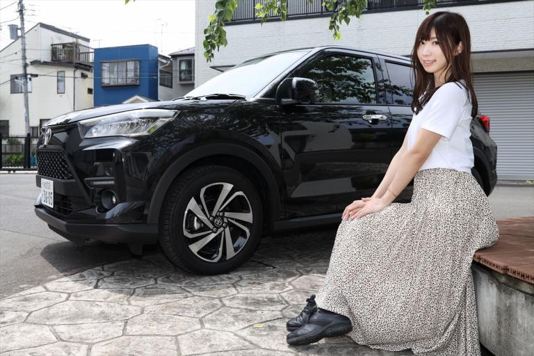 トヨタ ライズと生田ちむさん