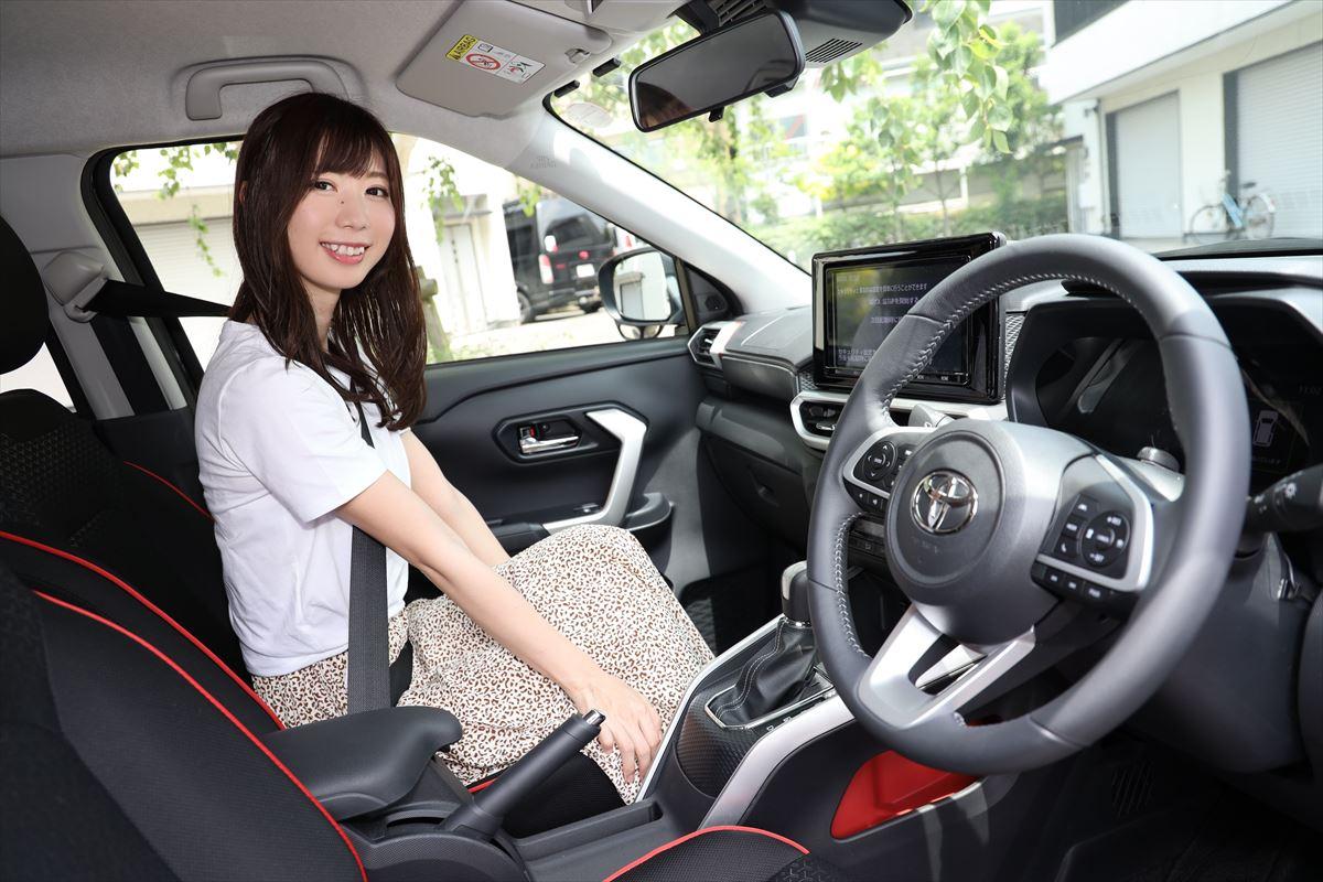トヨタ ライズの運転席周り