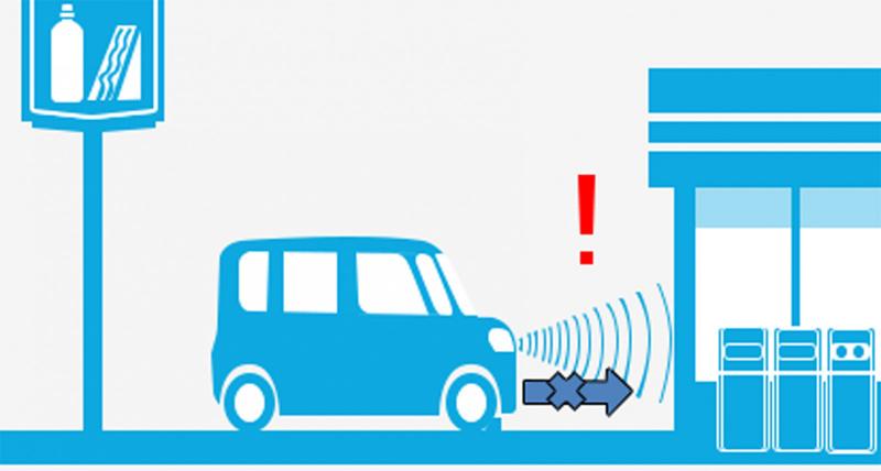 ペダル踏み間違い時加速抑制装置