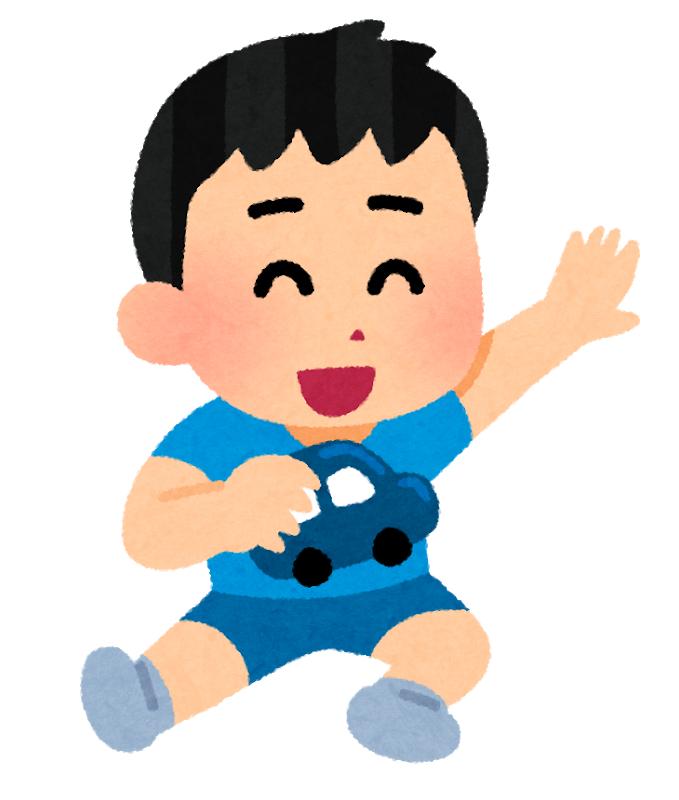 irasutoya_child_car