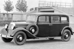メルセデス・ベンツ260D(1936年)。
