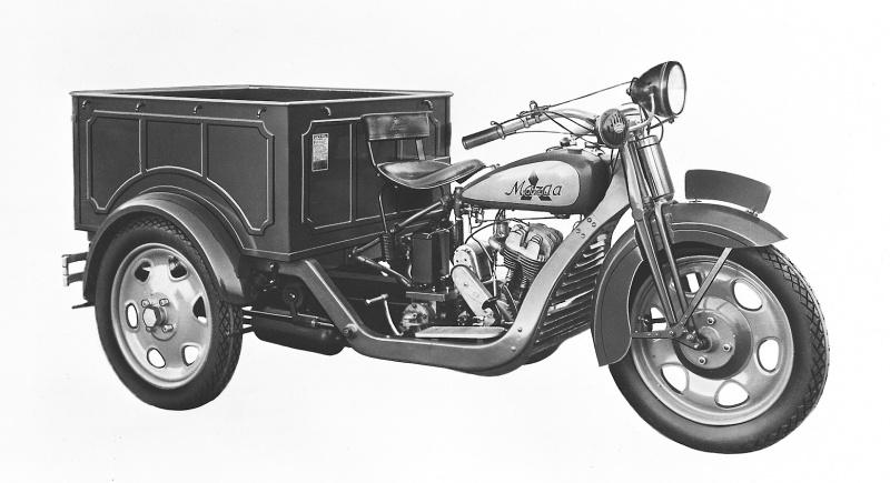マツダDA型(1931(昭和6)年10月)。