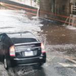 ゲリラ豪雨でクルマが水没! 自動車保険で自然災害の損害も補償されるの? - guerrilla_heavy_rain_02