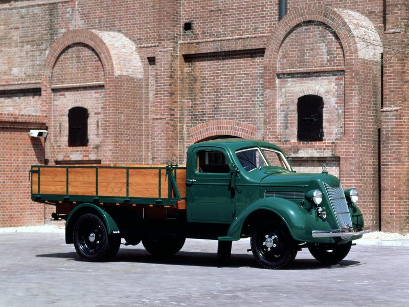トヨタG1型(1936(昭和11)年)。
