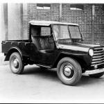 マツダCA型(1950(昭和25)年6月)。