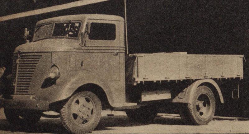 ニッサントラック80型(1938年)。