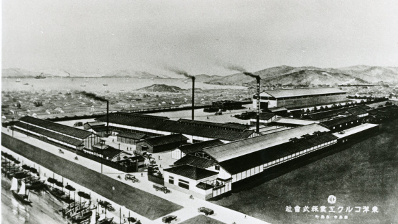 1920年(大正9)年当時の東洋コルク工業。