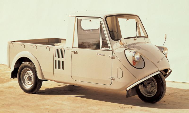 マツダK360(1959(昭和34)年5月)。