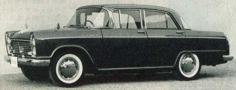 日産セドリック(1960(昭和35)年4月)。