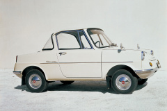 マツダR360クーペ(1960年5月)。