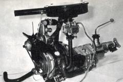 マツダのロータリーエンジンの試作第1号。