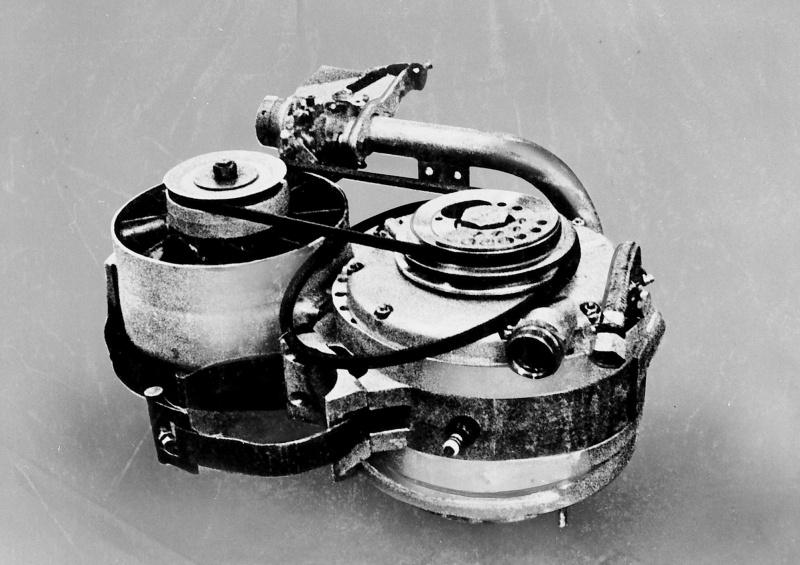 NSU社の試作ロータリーエンジン、KK400型。