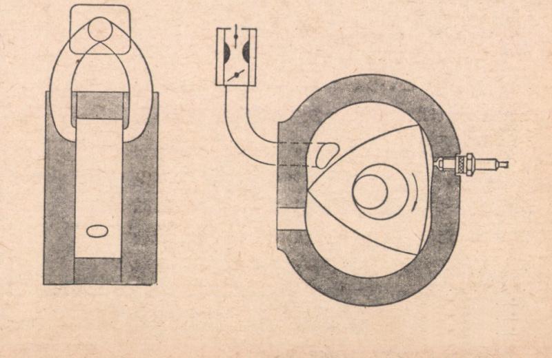 東洋工業が採ったサイドポート吸気方式。