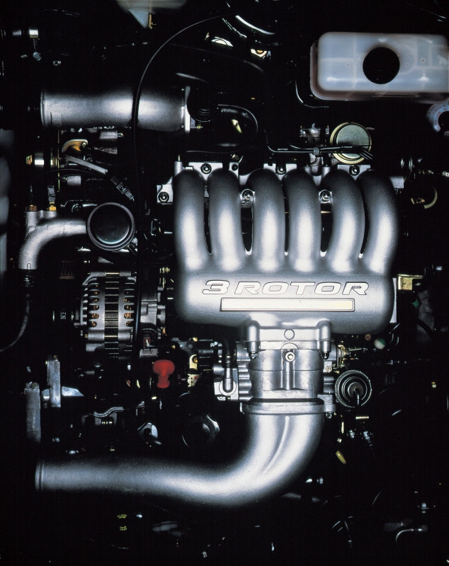 20Bエンジン。