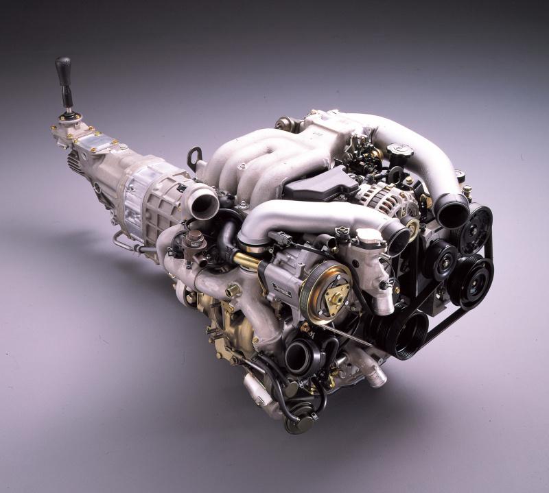 13B型エンジン。