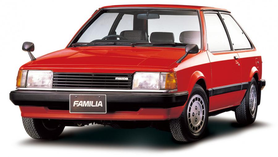 5代目ファミリア(1980(昭和55)年6月)。