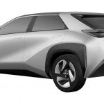 これがトヨタ・スバル共同開発SUVなのか!? 次世代EVクロスオーバーSUV特許画像が流出 - Toyota-BEV_2