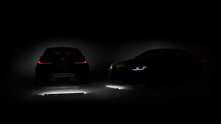 BMW M3 & M4 ティザーイメージ