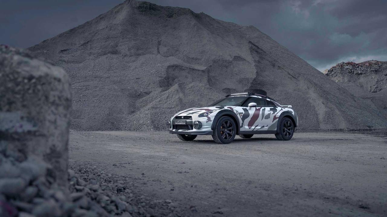 「日産・GT-Rがオフローダーに!? オランダから最新カスタム登場!」の1枚目の画像