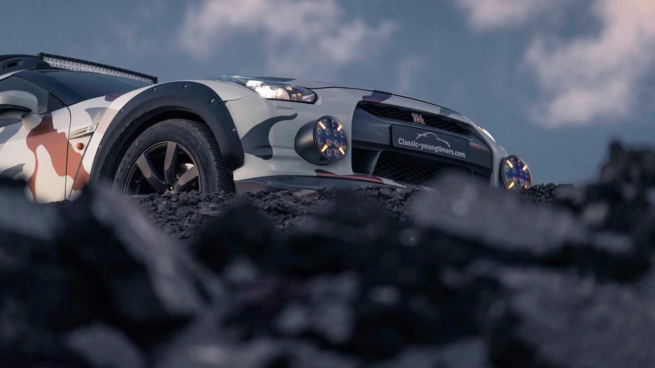 「日産・GT-Rがオフローダーに!? オランダから最新カスタム登場!」の9枚目の画像