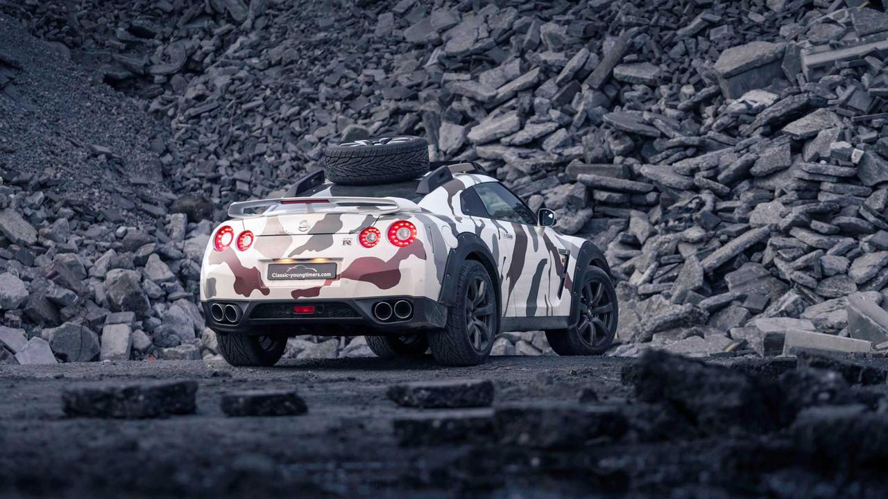 「日産・GT-Rがオフローダーに!? オランダから最新カスタム登場!」の10枚目の画像