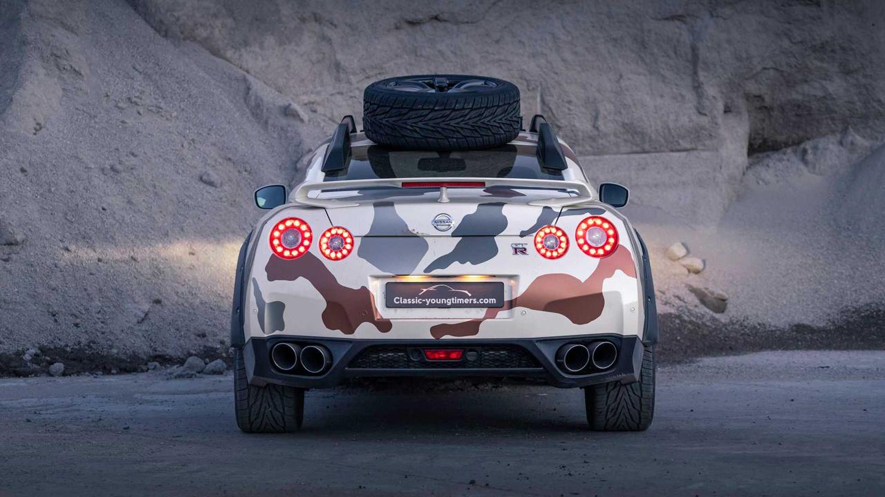 「日産・GT-Rがオフローダーに!? オランダから最新カスタム登場!」の11枚目の画像