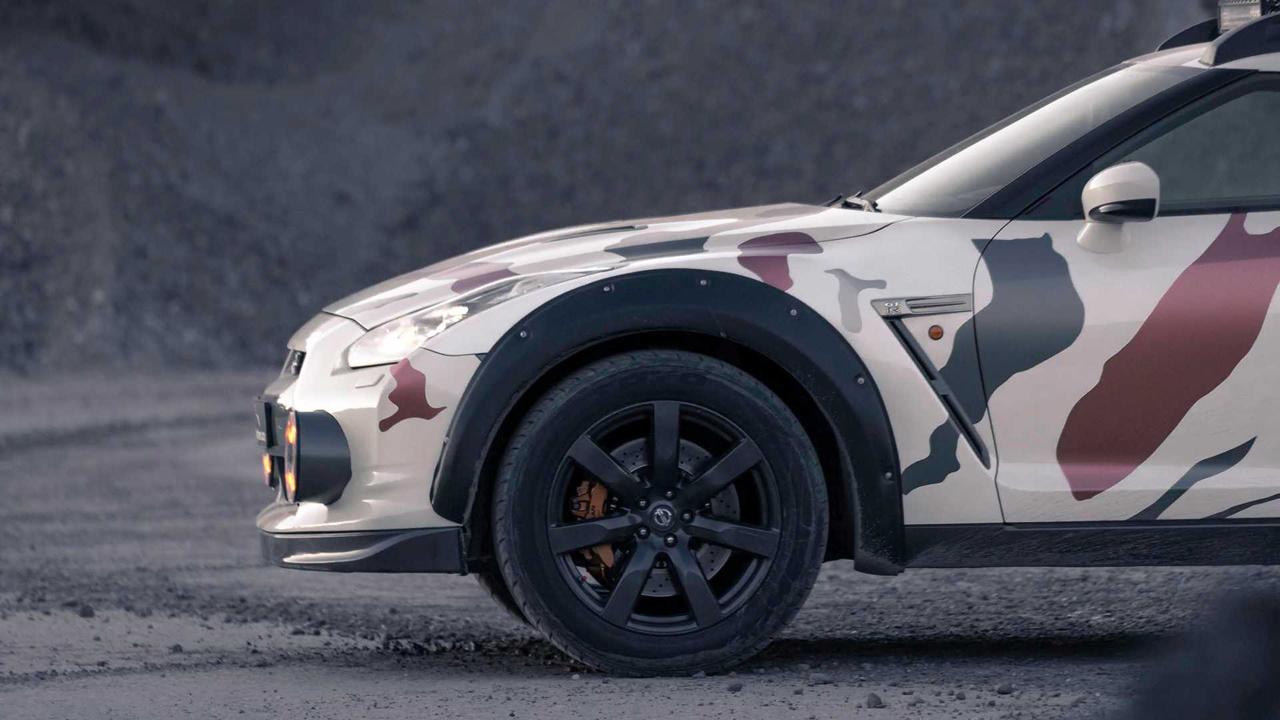 「日産・GT-Rがオフローダーに!? オランダから最新カスタム登場!」の12枚目の画像