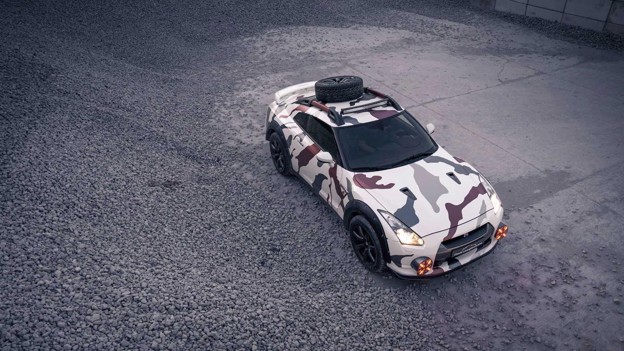 「日産・GT-Rがオフローダーに!? オランダから最新カスタム登場!」の2枚目の画像