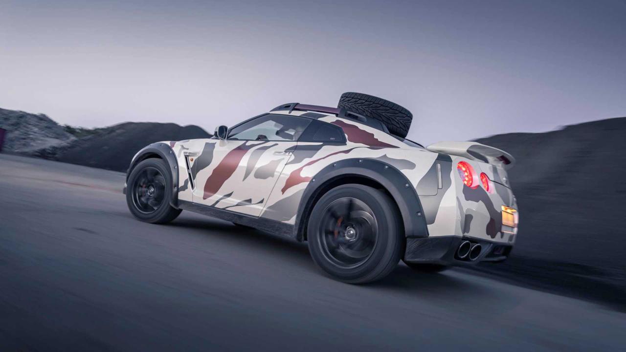 「日産・GT-Rがオフローダーに!? オランダから最新カスタム登場!」の5枚目の画像