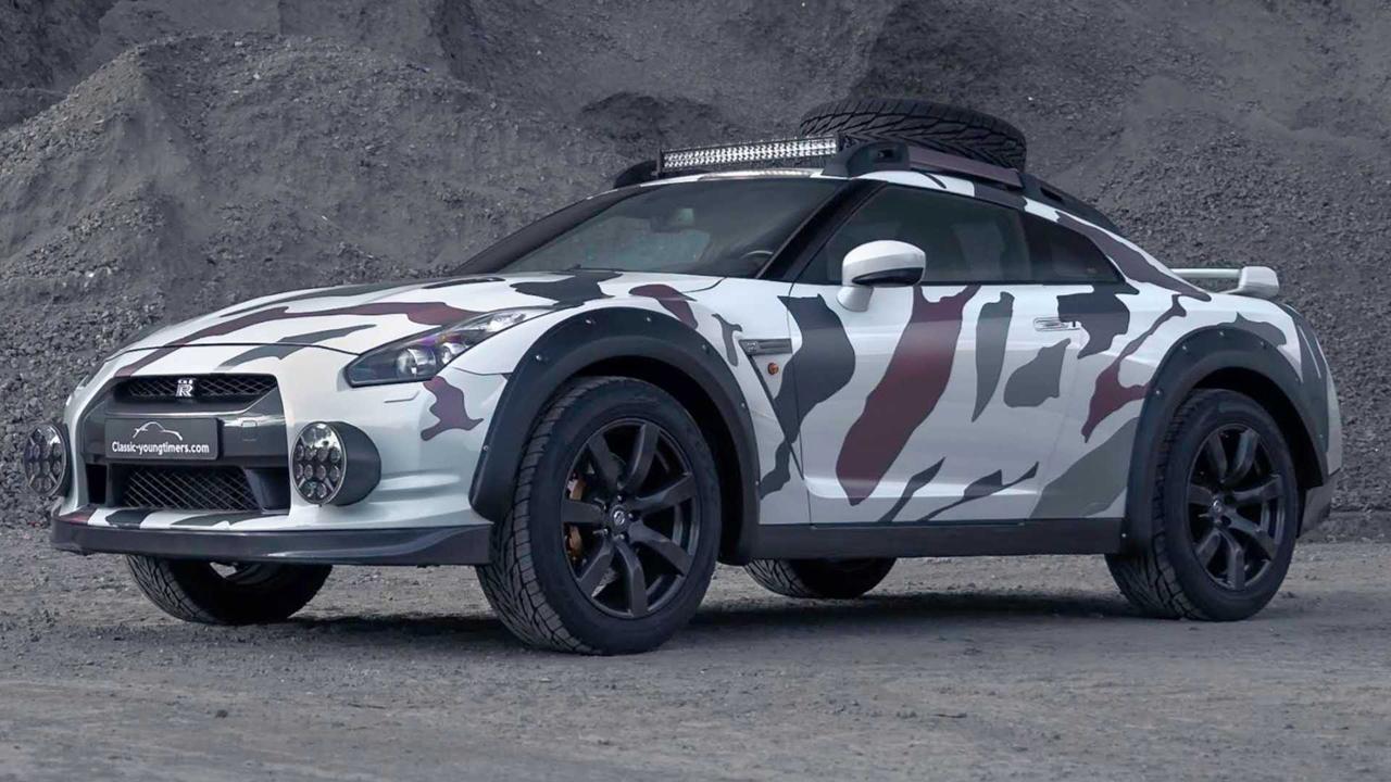 「日産・GT-Rがオフローダーに!? オランダから最新カスタム登場!」の6枚目の画像