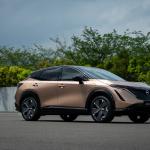 日産アリアのスペック発表で期待高まる軽EVの現実的な価格とスペック【週刊クルマのミライ】 - Nissan Ariya front quarter_2