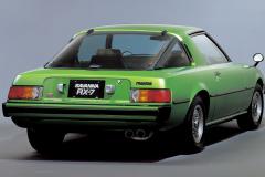 マツダ サバンナRX-7(1978(昭和53)年3月)。