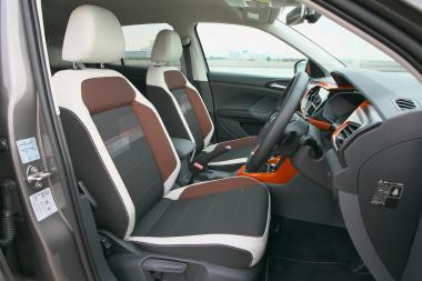 VW T-CROSSの内装03