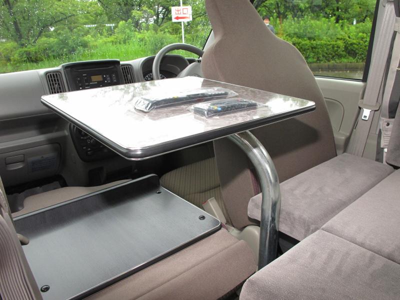 高級装備の軽自動車キャンパーが人気