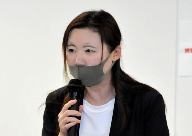 GoTotoトラベルの仕組みを説明する観光庁担当者