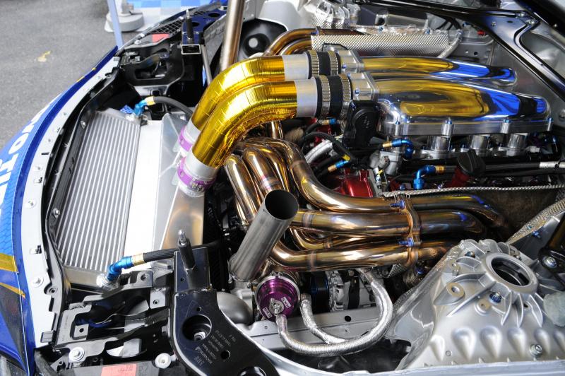 GRスープラ2号機エンジン